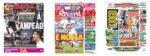 Capas Jornais Desportivos 12-10-2020