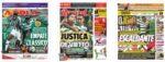 Capas Jornais Desportivos 18-10-2020