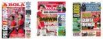 Capas Jornais Desportivos 27-10-2020