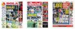 Capas Jornais Desportivos 28-10-2020