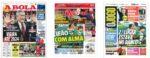 Capas Jornais Desportivos 29-10-2020