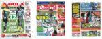 Capas Jornais Desportivos 11-11-2020