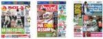 Capas Jornais Desportivos 18-11-2020