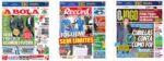 Capas Jornais Desportivos 19-11-2020