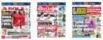 Capas Jornais Desportivos 20-11-2020