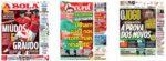 Capas Jornais Desportivos 21-11-2020