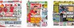 Capas Jornais Desportivos 22-11-2020