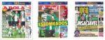 Capas Jornais Desportivos 24-11-2020