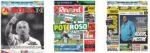 Capas Jornais Desportivos 29-11-2020