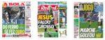 Capas Jornais Desportivos 02-12-2020