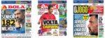 Capas Jornais Desportivos 03-12-2020