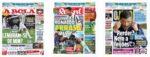 Capas Jornais Desportivos 09-12-2020