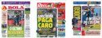 Capas Jornais Desportivos 10-12-2020