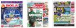 Capas Jornais Desportivos 15-12-2020