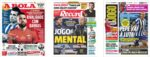 Capas Jornais Desportivos 22-12-2020