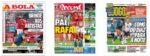Capas Jornais Desportivos 30-12-2020