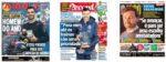 Capas Jornais Desportivos 01-01-2021