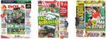 Capas Jornais Desportivos 03-01-2021