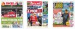 Capas Jornais Desportivos 05-01-2021