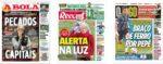 Capas Jornais Desportivos 06-01-2021