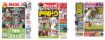 Capas Jornais Desportivos 12-01-2021