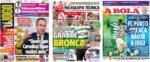 Capas Jornais Desportivos 19-01-2021
