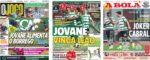 Capas Jornais Desportivos 20-01-2021