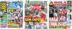 Capas Jornais Desportivos 21-01-2021