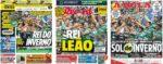 Capas Jornais Desportivos 24-01-2021