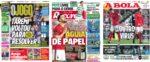 Capas Jornais Desportivos 26-01-2021