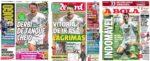 Capas Jornais Desportivos 27-01-2021