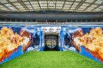 FC Porto tem nova personalização no túnel de acesso ao relvado