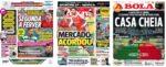 Capas Jornais Desportivos 01-02-2021