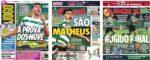 Capas Jornais Desportivos 02-02-2021