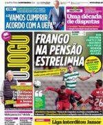 Capas Jornais Desportivos 10-02-2021
