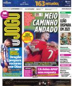 Capas Jornais Desportivos 12-02-2021