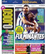 Capas Jornais Desportivos 18-02-2021