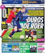 Capas Jornais Desportivos 19-02-2021