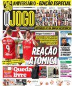 Capas Jornais Desportivos 22-02-2021