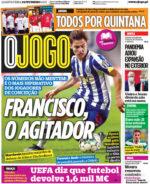 Capas Jornais Desportivos 24-02-2021