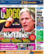 Capas Jornais Desportivos 25-02-2021