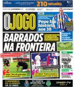 Capas Jornais Desportivos 26-02-2021