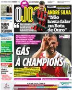 Capas Jornais Desportivos 01-03-2021