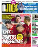 Capas Jornais Desportivos 02-03-2021