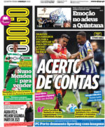 Capas Jornais Desportivos 03-03-2021