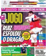 Capas Jornais Desportivos 04-03-2021