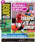 Capas Jornais Desportivos 05-03-2021