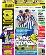 Capas Jornais Desportivos 07-03-2021