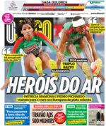 Capas Jornais Desportivos 08-03-2021