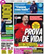 Capas Jornais Desportivos 09-03-2021